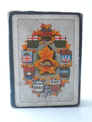 Vintage Playing Cards Souvenir of Canada Ocean to Ocean NS 52 Views W J Gage & Co Limited Toronto