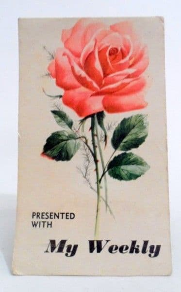 Vintage Sewing Presented with my Weekly Needle Book Case Needles Threader 1970s Roses