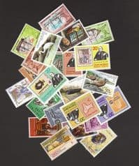 25 different Christmas Island packet*