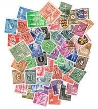 50 different Germany (Occupied) 1945-1949 packet