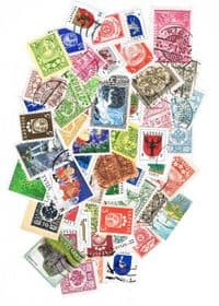 50 different Latvia (all issues) packet