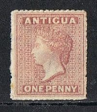 Antigua SG6 1863 Definitive 1d mounted mint