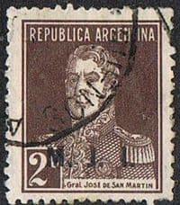 Argentina SG OD37E 1924 Departmental Official MJI 2c good/fine used