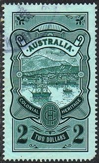 Australia 2012 Colonial Heritage $2 type 2 used FILLER