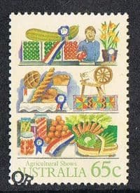 Australia SG1055 1987 Agricultural Shows 65c good/fine used