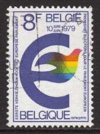 Belgium SG2551 1979 Direct Elections 8f good/fine used