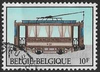 Belgium SG2746 1983 Trams 10f good/fine used