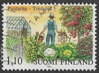 Finland SG1019 1982 Centenary of First Finnish Horticultural Society 1m.10 good/fine used