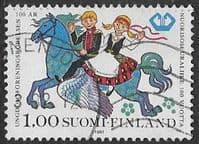 Finland SG996 1981 Centenary of Finnish Youth Associations 1m good/fine used