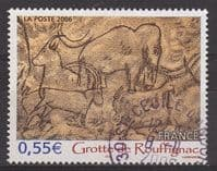 France SG4181 2006 Rouffignac Caves 55c good/fine used