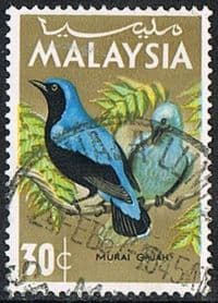 Malaysia SG21 1965 Definitive 30c good/fine used
