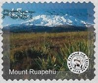 New Zealand - Fastway Post 2005 Mountain Scenes 45c Mount Ruapehu good/fine used