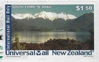 New Zealand  - Universal Mail $1.50 South Fiord good/fine used