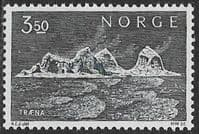 Norway SG631 1969 Definitive 3k.50 unmounted mint