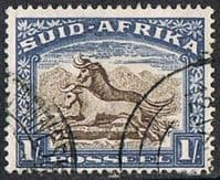 South Africa SG120 1950 Definitive 1/- good/fine used