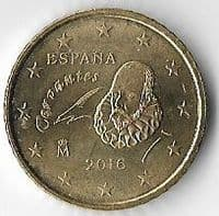 Spain 2016 50 (Euro) cents