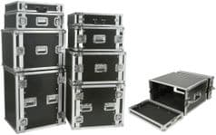 19'' equipment flightcase - 4U (Shallow)