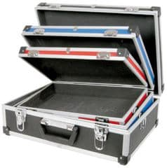 3 x DJ Storage Equipment Flight Case for Disco/Karaoke Band Live Mics + Anything