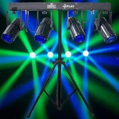 4 Play LED Lighting System (Hire Cost per Day)