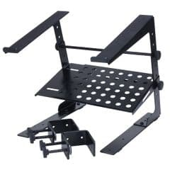 Accu Case UNI LTS Table Top Laptop Stand + Clamps