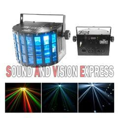 Chauvet Mini Kinta IRC LED Light Derby Effect 12W RGBW DMX DJ Band 2 YR Warranty