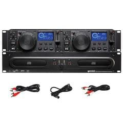 Gemini CDX-2250i Pro DJ Dual Twin 2x CD Player + 2x USB + MP3 19