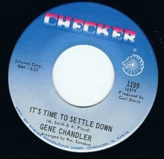 Gene Chandler It's Time To Settle Down Checker