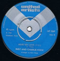 Inez and Charlie Foxx Hurt By Love United Artists