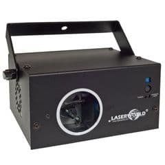 Laserworld EL-230RGB 230mW Red Green Blue Scanning Laser Light DMX + 50 Patterns
