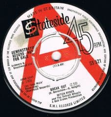 MITCH RYDER AND THE DETROIT WHEELS BREAK OUT STATESIDE DEMO M-