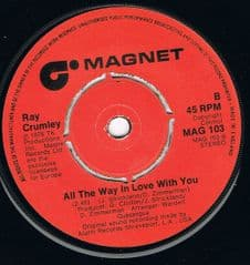 Ray Crumley All The Way In Love With You Magnet M- UK Demo