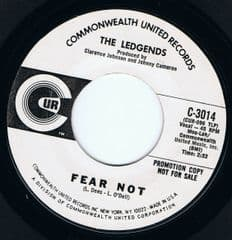 The Ledgends Fear Not Commonwealth United White Demo