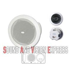 Trevi TF 9215 2 Way Wall / Ceiling Loudspeaker With Transformer 6W / 3W Speaker