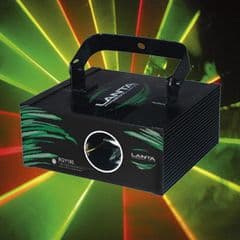 Tri Colour Red, Green and Yellow Laser Hire Cost per Day