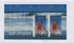 06/03/2007 Australia FDC Year of the Surf Lifesaving Miniature Sheet with Lenticular Stamps