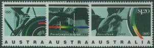 AUS SG1358-60 Barcelona Olympic Games 1992 and Paralympic Games set of 3