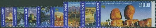 AUS SG1982-9 International Stamps: Views of Australia (1st series) set of 8