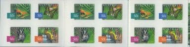 AUS SG2277b Flora & Fauna (6th series): Rainforest, Daintree s-a booklet pane (SB163) of 20