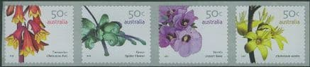 AUS SG2763da Australian Wildflowers (3rd series) self-adhesive Pemara strip perf 13