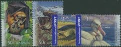 AUS SG2839a-42 Threatened Wildlife set of 4 including pair