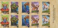 AUS SG3659a Stamp Collecting Month 2011: Mythical Creatures s-a booklet pane (SB383) of 10