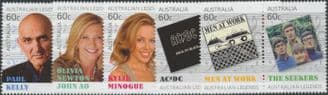 AUS SG3897a-905a Australian Legends (17th Series): Musicians set of 10 in pairs