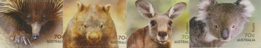 AUS SG4300-3 Australian Native Animals self-adhesive set of 4 from booklets (exSB490-1)