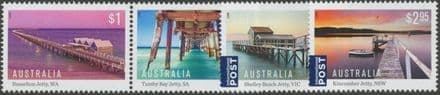 AUS SG4683a-6 Australian Jetties set of 4 including pair