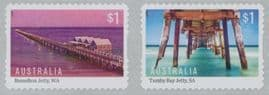 AUS SG4687a Australian Jetties self-adhesive set of 2 from roll