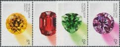 AUS SG4691a-3a Rare Beauties: Gems set of 4 in pairs