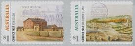 AUS SG4839a Convict Past self-adhesive set of 2 from roll