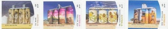 AUS SG4913-6 Silo Art self-adhesive set of 4 from booklets (exSB611-4)