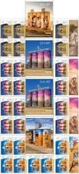 Australian Stamps SG4913a-6a Silo Art self-adhesive set of 4 booklet (SB611-4) panes