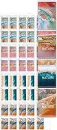 Australian Stamps SG4928a-31a Art in Nature self-adhesive set of 4 booklet (SB615-8) panes